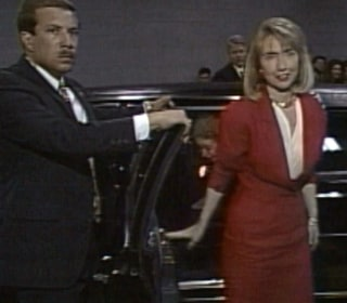 Watch Hillary Clinton's Grand Entrance at 1992 DNC