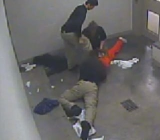 Security Cameras Capture Jail Death
