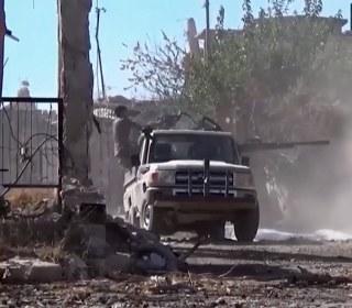 Fierce Fighting as Syrian Troops Besiege Aleppo