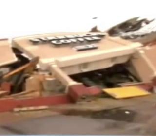 Video Shows Starbucks Being Flattened by Tornado