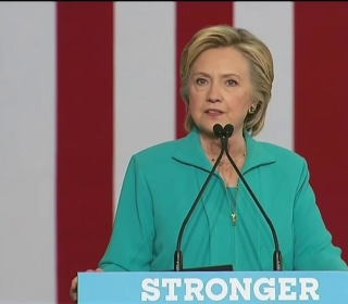 'He's Taking Hate Groups Mainstream': Clinton Lashes Out at Trump