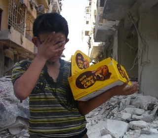 Aleppo Boy Who Lost Dad, Siblings: 'The Whole World Is Broken'