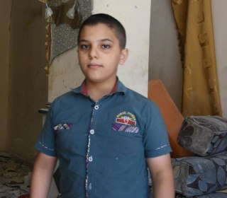 Mahmoud, 14, Has Seen the Horrors of Syria's War in Aleppo