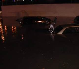 Drivers Rescued as Floods Turn Streets Into Rivers