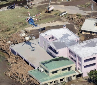 Deadly Typhoon Lionrock Leaves Destruction in Its Wake