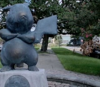 'Pokemonument': Mystery Pikachu Statue Appears in City