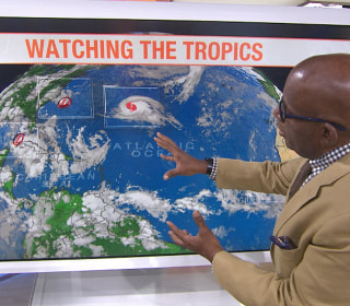 Hurricane Gaston strengthens in Atlantic; separate storm targets Florida