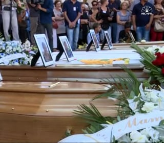 First Funeral Services Held for Italy Quake Victims