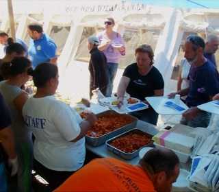 Volunteers Provide Comfort Food for Survivors of Italy Earthquake