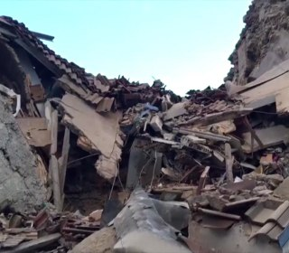 Italy Earthquake: Video Shows Scale of Destruction in Amatrice