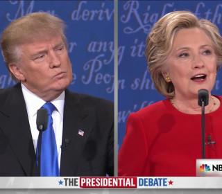Hillary Clinton Criticizes Trump Over Tax Returns