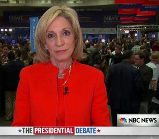 Andrea Mitchell: Clinton Effectively Countered Trump on Women's Issues