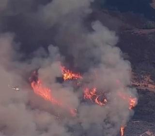 Triple-Digit Temperatures, Drought Fuel Calif. Wildfires