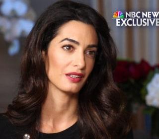 NBC News Exclusive: Amal Clooney's Dangerous Mission Against ISIS
