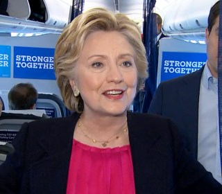 Clinton on Debate : Campaign 'Had a Great Time Last Night'