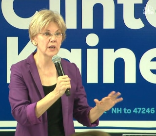 Warren Reacts to Potential Trump Presidency: 'Oh My God, Gag!'