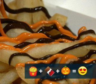McDonald's Serves Up Chocolate-Pumpkin French Fries
