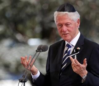 Bill Clinton: Shimon Peres Never Gave Up on Anybody