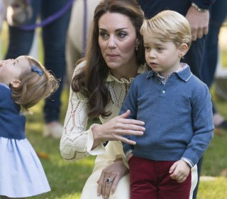 Adorable Princess Charlotte Takes Her First Steps in Public