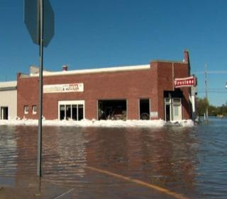 Swollen Rivers Keep Rising in Iowa