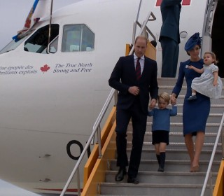 Prince William, Kate Hear Touching Tribute to Diana in Canada