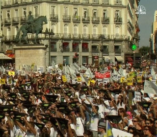 Thousands Protest Against Spain's Long Tradition of Bullfighting