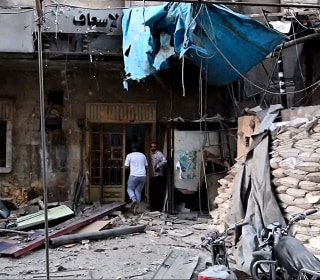 Aleppo Hospital Left in Rubble After Airstrike
