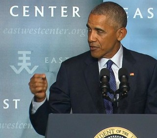 No Nation Is Immune From Climate Change, Obama Says