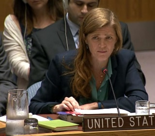 Samantha Power Blasts Russia's 'Barbarism' in Syria
