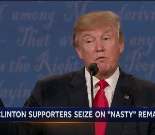 Trump Uses Harsh Language At Final Debate, Brands Clinton as 'Nasty Woman'