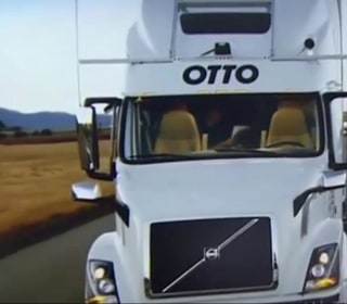 Self-Driving Truck Delivers 50,000 Cans of Beer