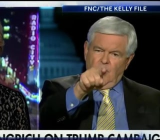 Trump Congratulates Newt Gingrich on Fiery Exchange With Megyn Kelly
