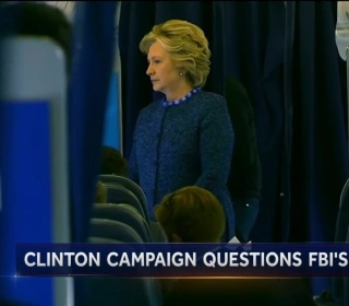 Clinton Campaign in Damage Control After New FBI Review