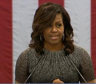 Michelle Obama's Delivers Impassioned Speech in Phoenix