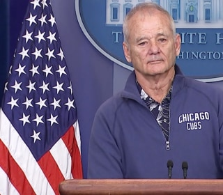 Bill Murray Crashes White House Press Briefing Room