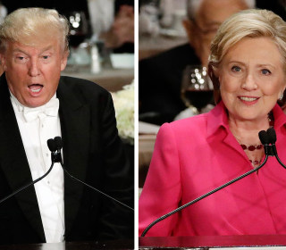 Watch Trump, Clinton Zingers From Al Smith Charity Dinner