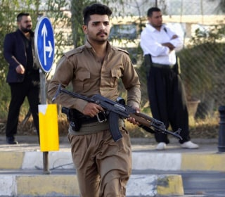 Running for Cover on Kirkuk's Streets as ISIS Attack