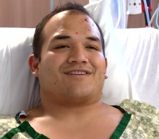 Injured Firefighter Speaks Out About Portland Explosion