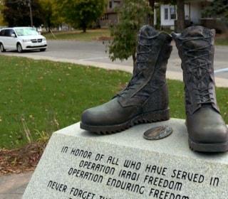 Michigan War Memorial Vandalized