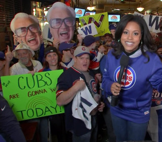 Long-Suffering Cubs Fan Delirious Ahead of World Series