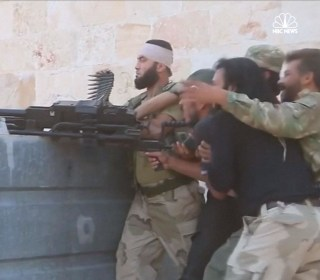 FSA Rebels Battle ISIS in Northern Aleppo