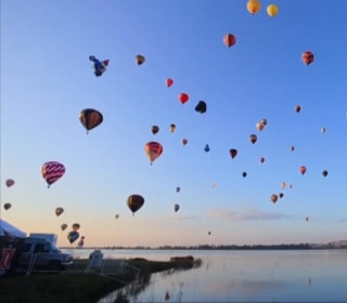 Hot Air Balloons From 22 Countries Soar Over Mexico