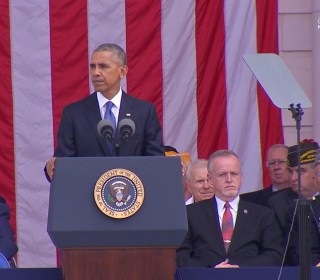 President Obama: We Should Respect One Another to Honor Veterans