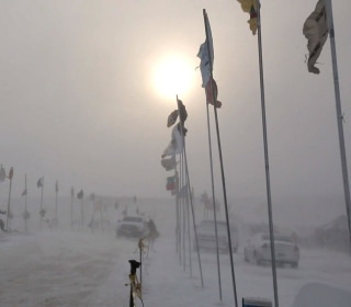 Protesters Endure Blizzard to Remain at Standing Rock