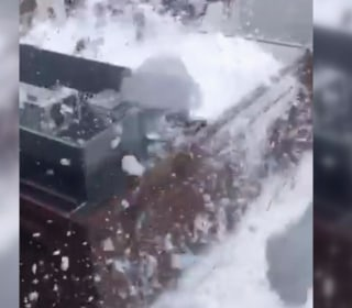 Watch Foam Overflow from Philadelphia Power Substation