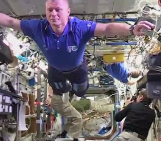 Astronauts Nail the Mannequin Challenge in Zero Gravity