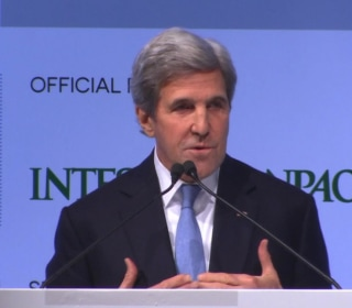 Secretary of State Highlights Climate Change and Future of World