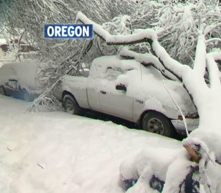 Record Snowfall Blankets Northwest Amid Deadly Storm