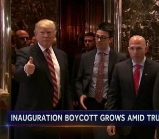 Trump-Lewis War of Words Casts Shadow Over Inauguration Week