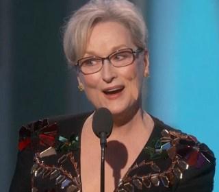 Actors Get Political at Golden Globes